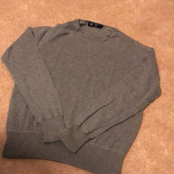 Grey JCrew Knit Sweater